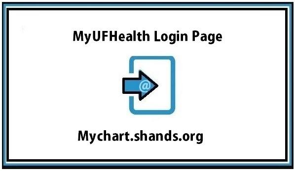 MyUFHealth Login Page