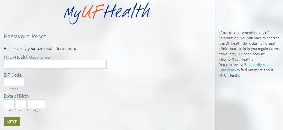 Mychart UF Health
