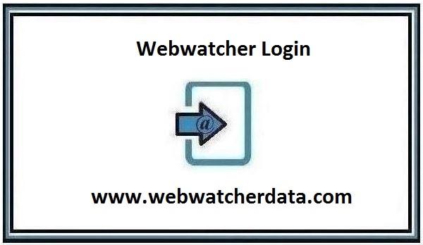 Webwatcher Login page