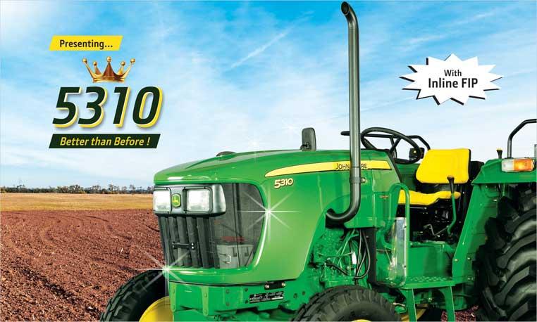 John Deere 5310 Model Tractors