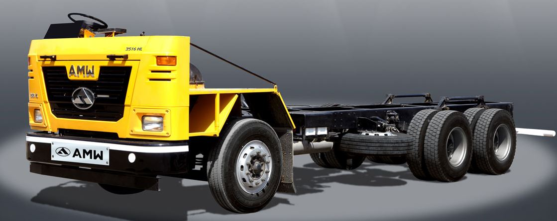 AMW 2516 HL Cowl Heavy Duty Truck
