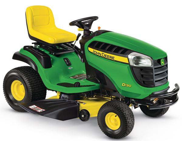 John Deere D130 lawnmower