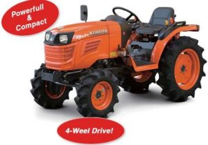 Kubota B2420 4WD Mini Tractor