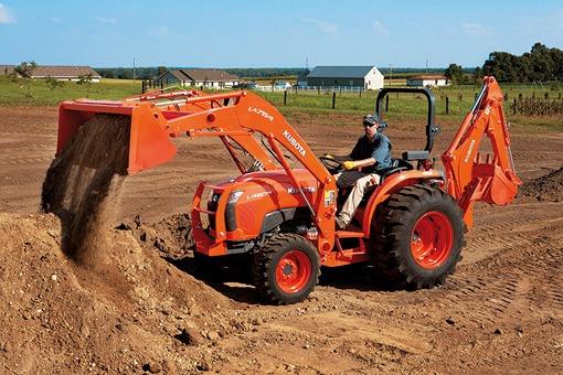 Kubota L3800 Tractor hydraulic System