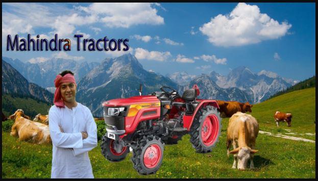 Mahindra Tractors Price List In India