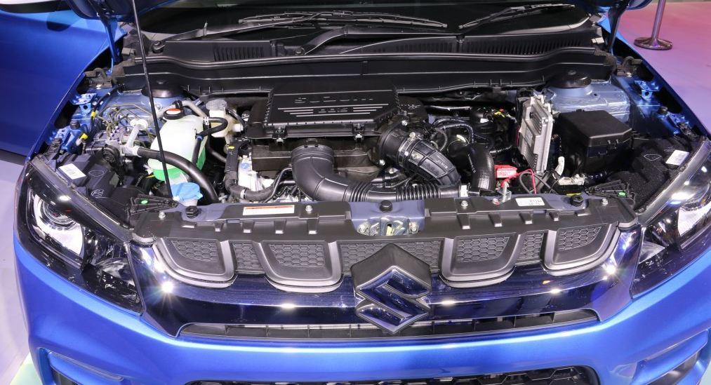 Maruti Suzuki Vitara Brezza car engine