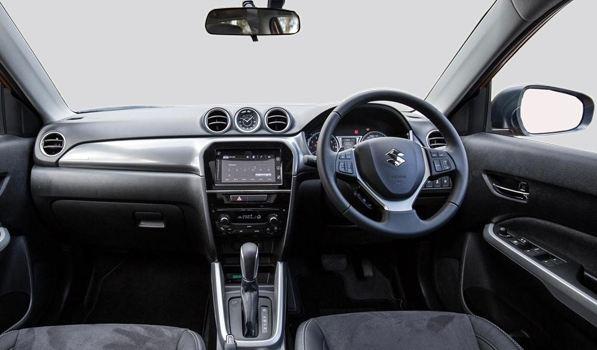 Maruti Suzuki Vitara Brezza car interior 1
