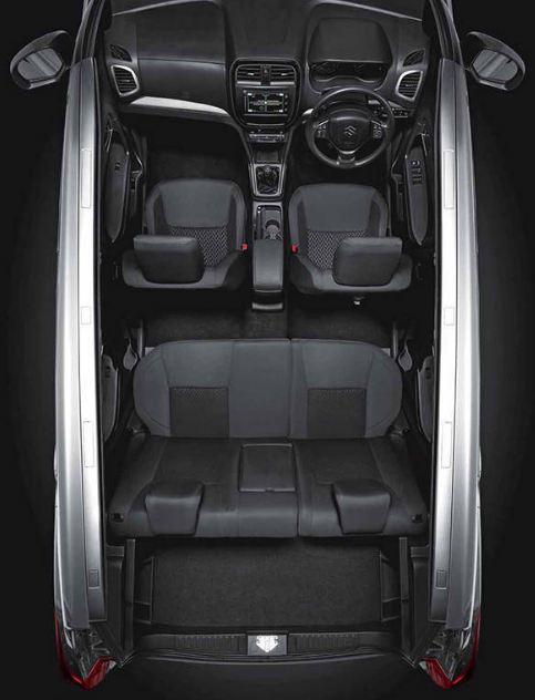 Maruti Suzuki Vitara Brezza car interior