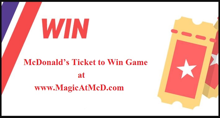 McDonald's Ticket to Win Game 2020