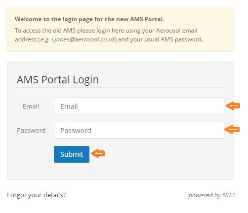 AMS Login Portal