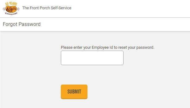 Cracker Barrel Employee Login forgot password 2