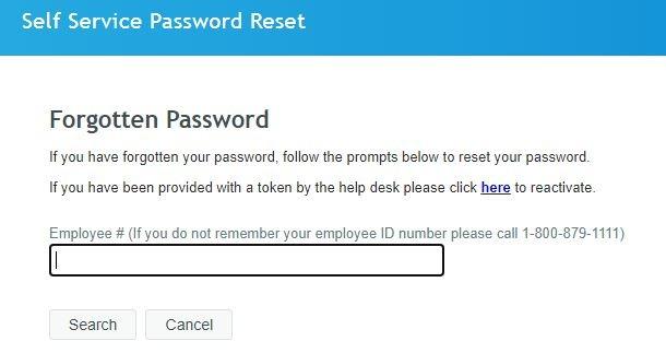 JCP Associate Kiosk Login forgot password 1