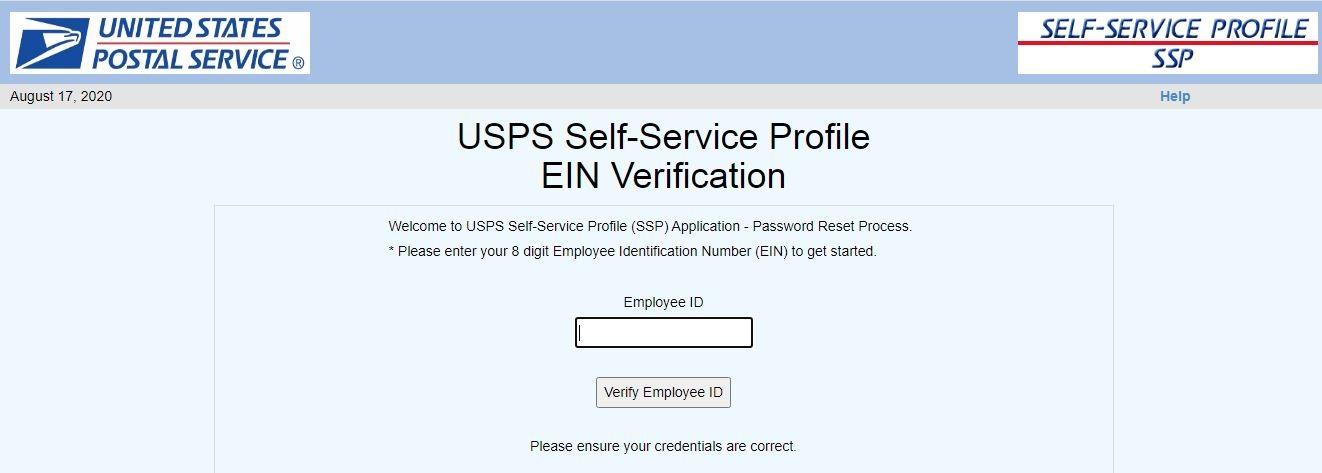 LiteBlue USPS Login forgot password 1