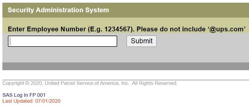 UPSers forgot password