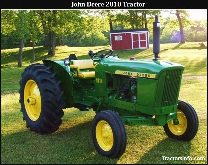 John Deere 2010 Price, Specs, Weight, Review, Attachments