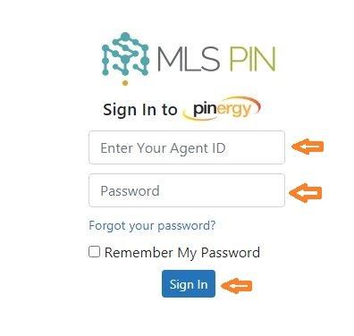 MLS PIN Login