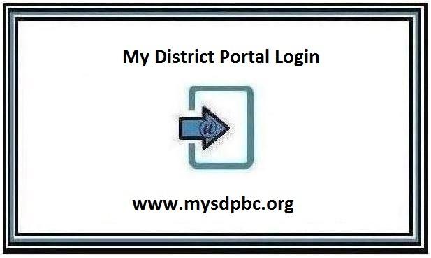My District portal Login page