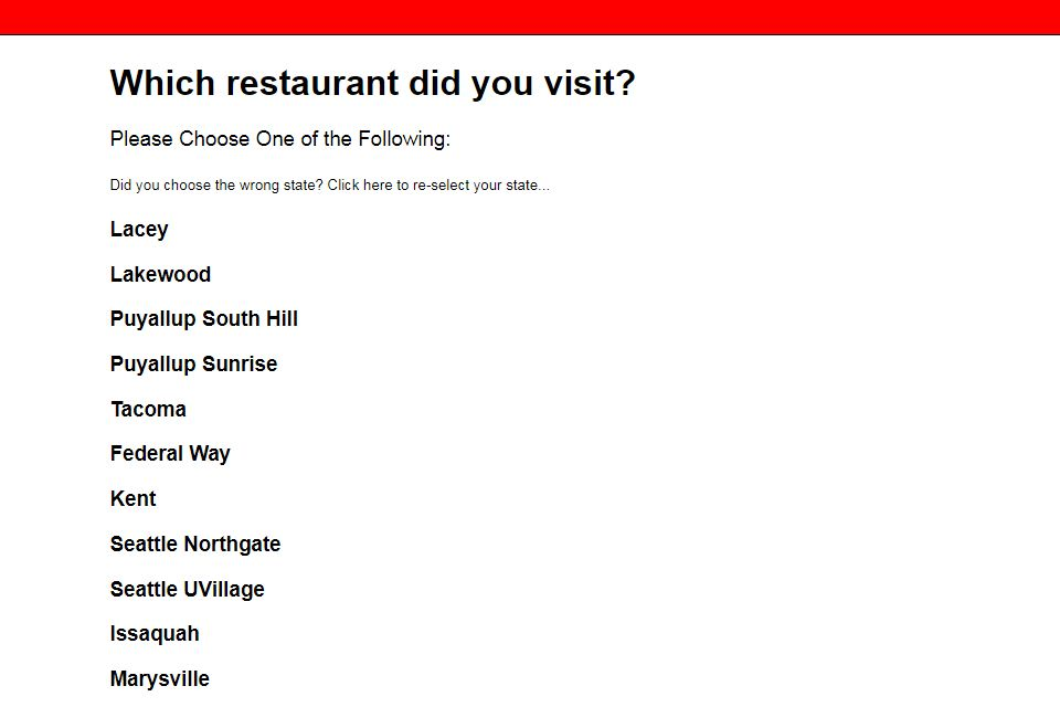 RAM Restaurant & BreweryGuest Survey