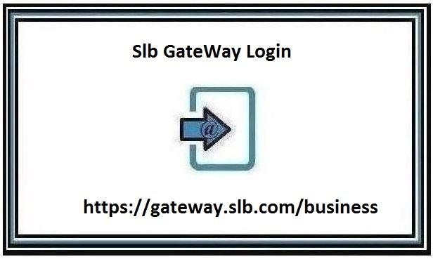 Slb GateWay Login page