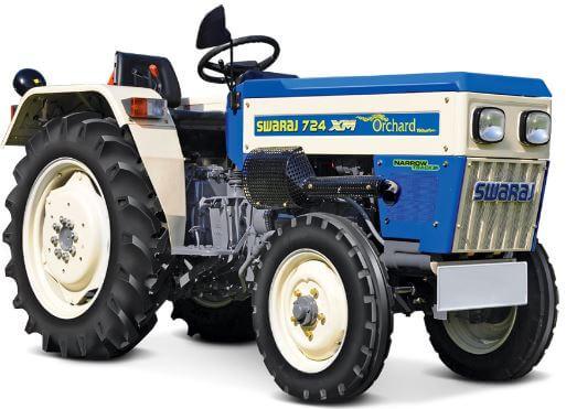 Swaraj 724 XM Orchard Narrow Track Tractor