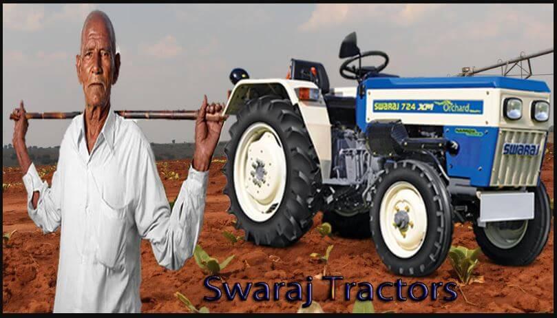 Swaraj Tractors Price List In India